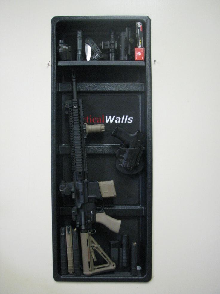 1000 Ideas About Tactical Wall On Pinterest Gun Safes