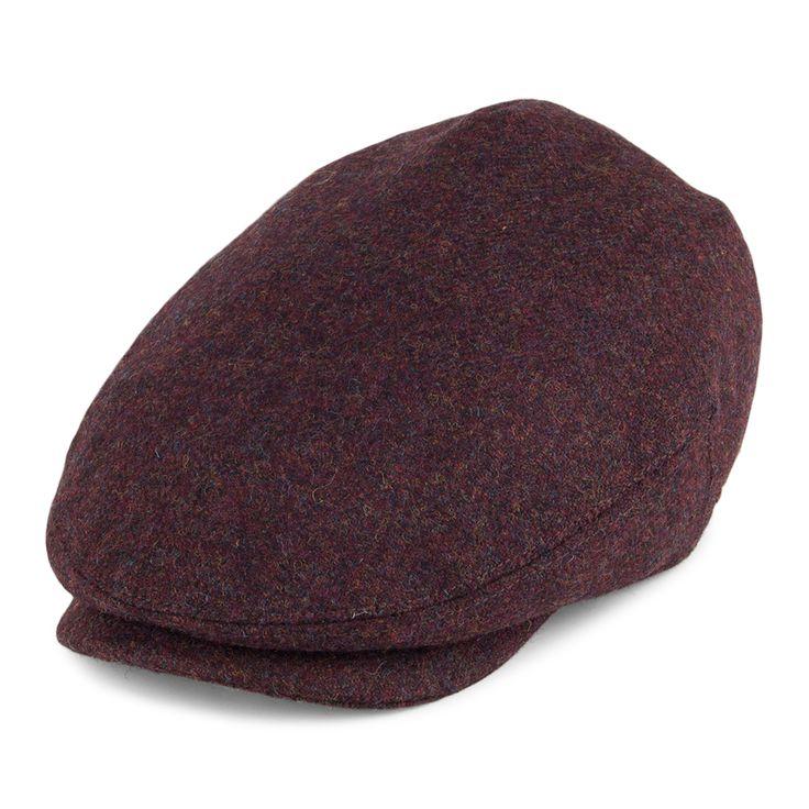 Kangol Hats British Peebles Flat Cap - Wine from Village Hats.