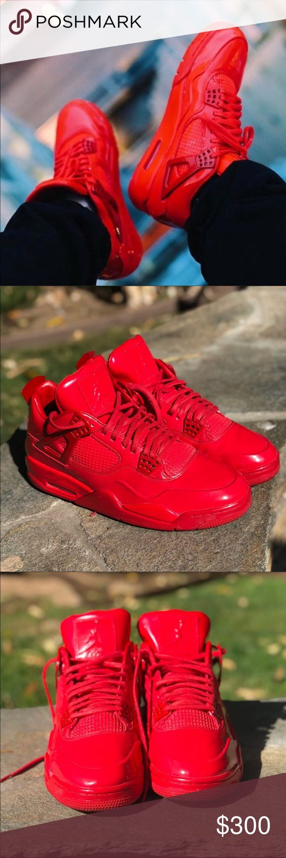 NIKE 🌹 AIR JORDAN 4 | 11LAB4 size 12 MEN These amazing AIR JORDAN 4 | 11LAB4 have been pre-loved by my hunny @justinstyleco but are in EXCELLENT USED CONDITION, as shown in all the photos. These are size 12 MENS. No original box at this time (but we are looking for it!) All of Justin's Jordans are stored neatly in clear boxes 😍    Ships securely same or next day from my smoke free home.  PRICE is FIRM, offers will be considered through the offer button only. Bundle items to save…