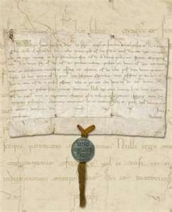 -Papal Bull dated June 8th 1216 issued by Pope Innocent III 1160 or ...