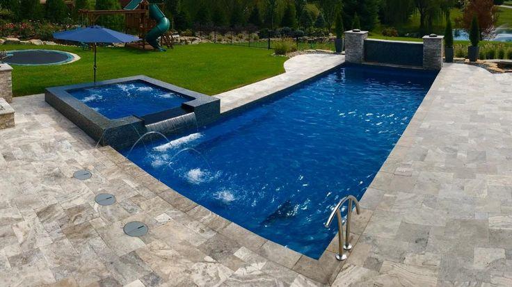 The Best New Fiberglass Pool Models For 2020 In 2020 Fiberglass Pools Pool Leisure Pools