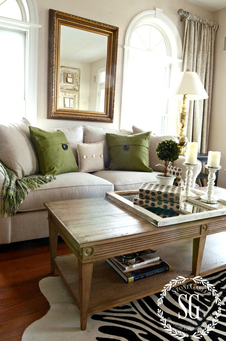 """HOW TO STYLE PILLOWS - use 2 large (24"""") square """"anchor"""" pillows, then 2 medium (18 - 20""""), square """"decorative"""" pillows with some design and/or texture, then a long, narrow """"interest"""" pillow in the center, also add a throw for color and texture. Have a """"default"""" pillow arrangement and then mix and match with other coordinating pillows for different seasons/looks, combine solids, patterns, textures, and maybe add a fun, whimsical/decorative/statement pillow (this is the Pottery Barn Comfort…"""