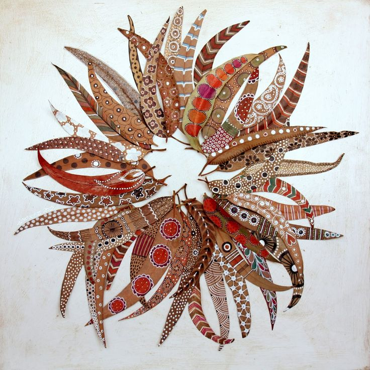 bicocacolors: bicocacolors shop...tangling style doodles on wooden leaves/pods \(?). May find the in Canada @ Micheals in the dried floral/pod section