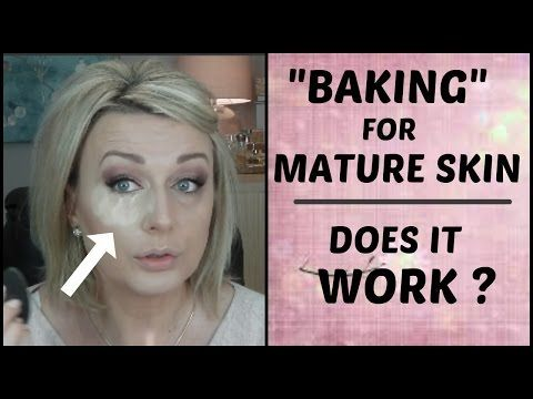 Best 25 foundation for mature skin ideas on pinterest makeup baking makeup technique over 40 edition with cody airspun powder youtube ccuart Images