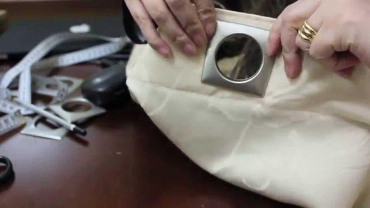 Tutorial colocação de ilhós em cortina de varão