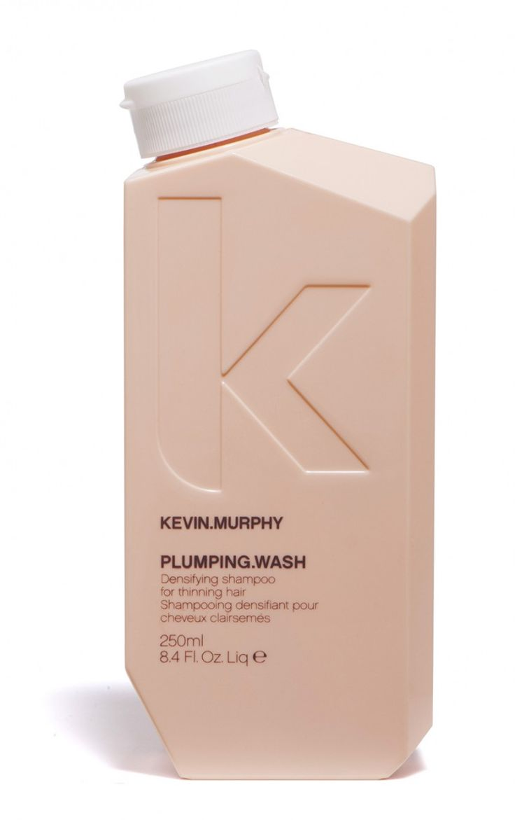 @Love Kevin Murphy PLUMPING.WASH from the new Plumping Line- the PLUMPING.WASH prepares the hair by gently exfoliating the scalp and improving circulation with the help from sugar Cane, Nettle and Ginger Root Extracts.
