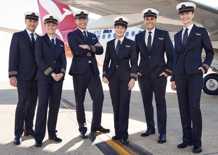 Interesting facts about Qantas Airline pilots new uniform.. ! – Jetline Marvel