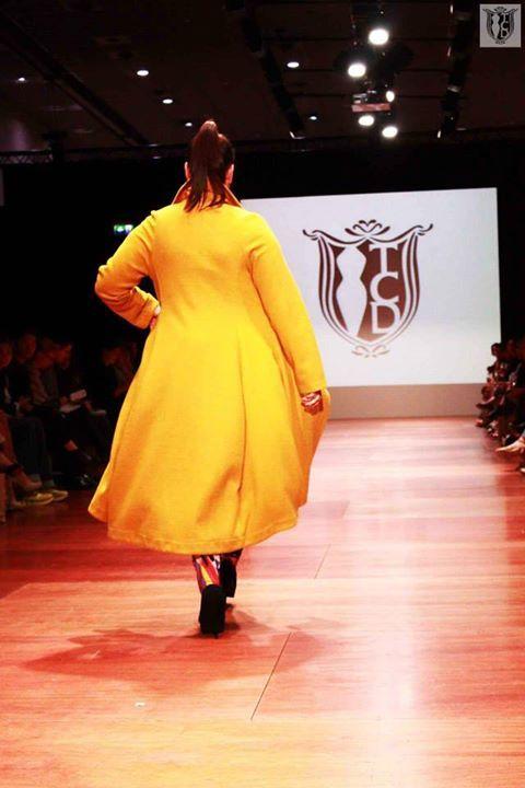 Luna Coat - Mustard   WFW