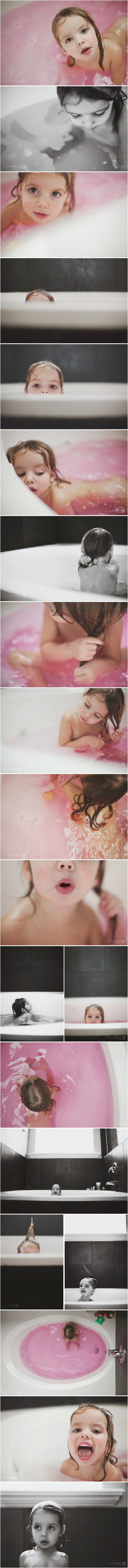 summer murdock | angles and perspective, so cute! Doing this in guest bath when Chloe is bigger