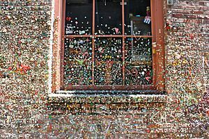 GO HERE!!! Go here, but don't touch cause it's nasty!  Seattle's Gum Wall located in Post Alley under the famous Pike Place Market. It was named one of the top 5 germiest tourist attractions in the world. Ewww...  A must see if you are shopping at the Market. #myhometownpins