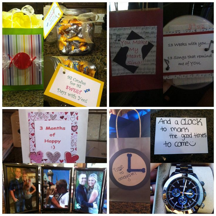 Idea For A Boyfriends Birthday Days Weeks Months And Future
