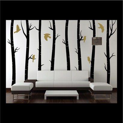 Adhesive Wall Art 164 best art art art images on pinterest | tree paintings, birches