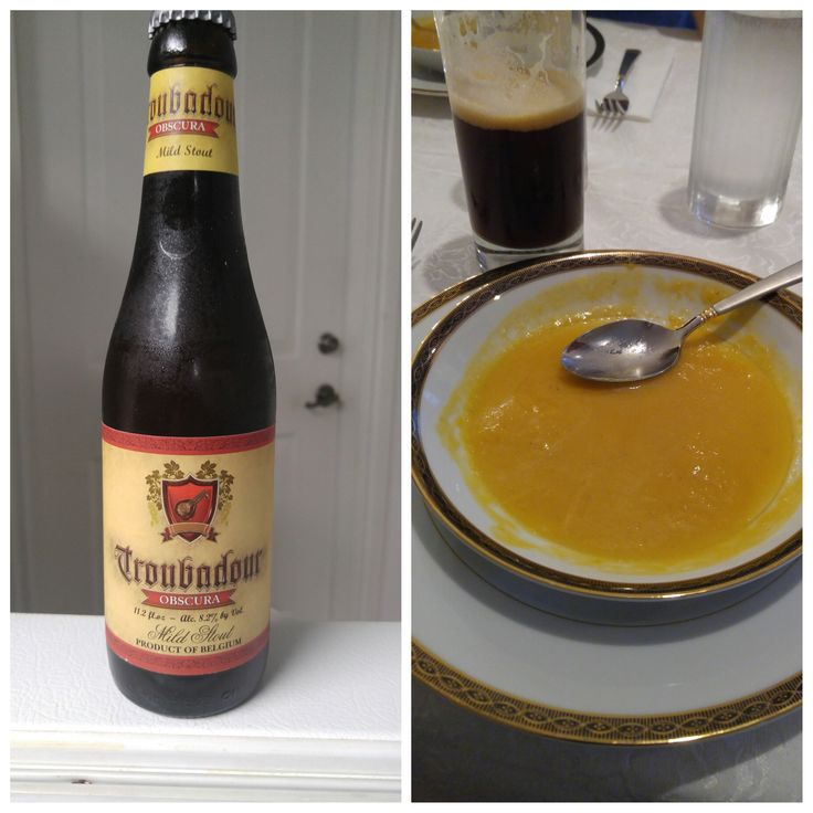 Beer and and Soup Pairing – Troubadour Obscura Mild Stout and Butternut Squash Soup | The Boozy Beggar