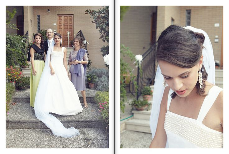 bride family makeup hair veil gown pic photo  by Luca Massaccesi http://www.brobrowedding.com/