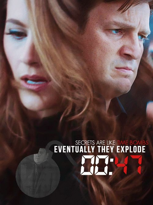47 seconds   MONDAY   Are you ready? I...'m not... #Castle -SECRETS-