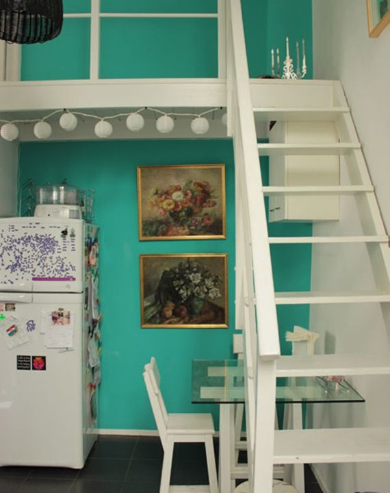 Nice: Wall Colors, Colors Colors, At Home, Teal Wall, Home, Colores Casa, Open Stairs, Colors Combinations, Casa Chaucha