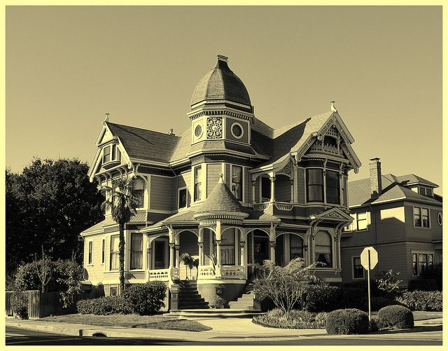 Victorian Homes | old victorian house in alameda california beautiful victorian house on ...