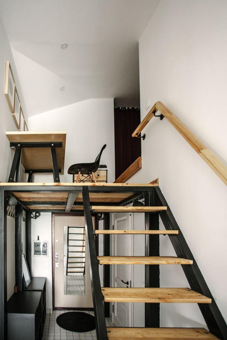 73 best Monolocale | Studio | Loft Inspiration images on Pinterest ...