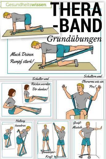 Das Theraband ist so genial weil es so einfach ist! Du kannst Dein Training damit stufenweise ausbauen aber auch gleichzeitig eine Vielzahl von Muskel…