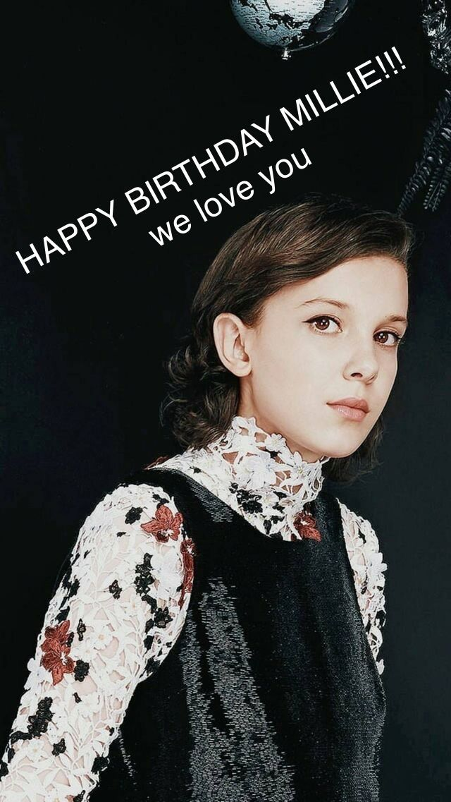 HAPPY BIRTHDAY MILLIE I MADE THIS FOR YOUUUU WE LOVE YOUUUU -VALENTINA