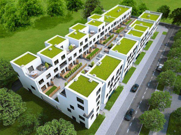 Nowy budynek łączy cechy zabudowy jedno- i wielorodzinnej. Ma też zróżnicowaną wysokość - od dwóch do pięciu kondygnacji