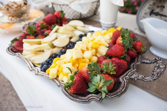 vintage silver fruit tray