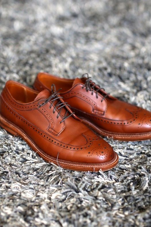 Alden Waxed Longwing Bluchers | Fashables