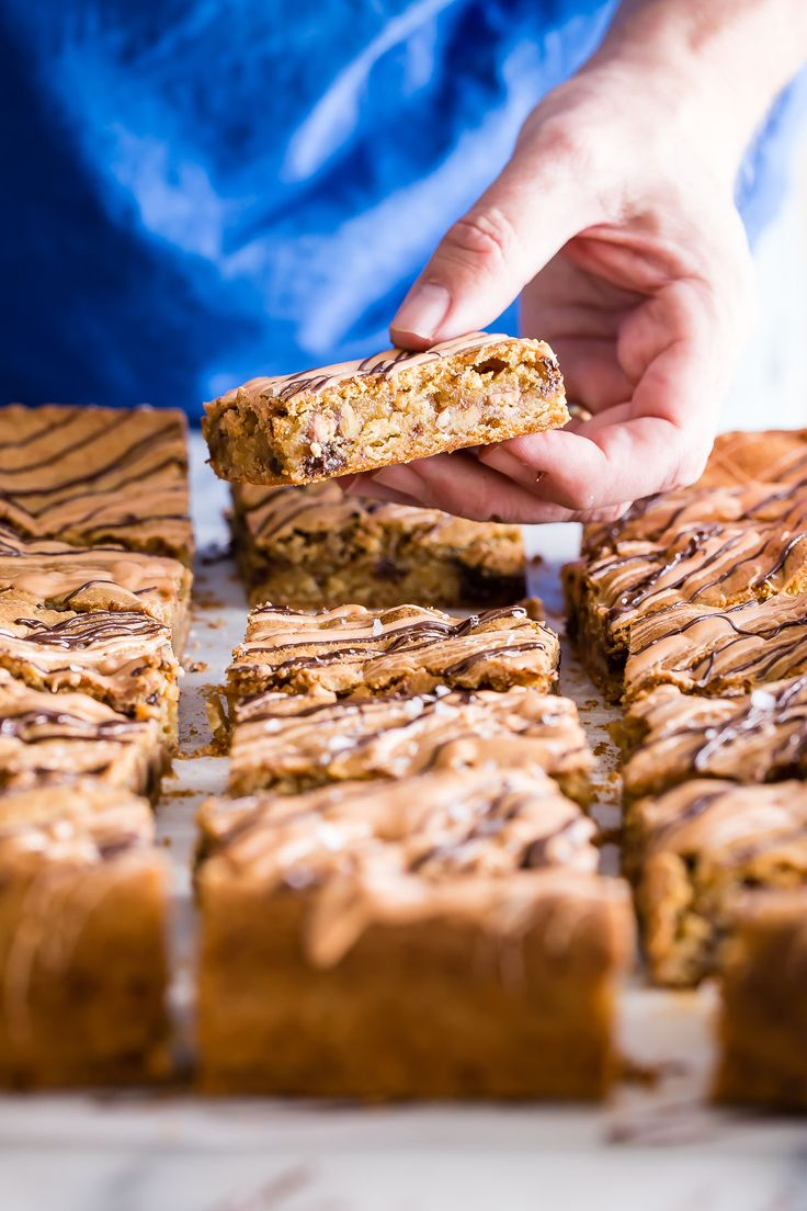 ... Cookie Bars on Pinterest | Pecan pie bars, Salted caramels and Bar