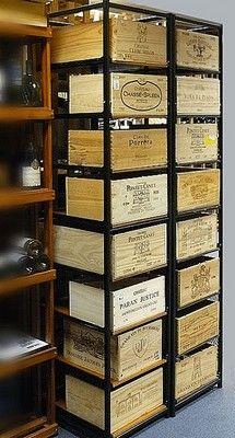 25 best armoire vin casier m tallique bouteilles cuisine cave images on pinterest. Black Bedroom Furniture Sets. Home Design Ideas