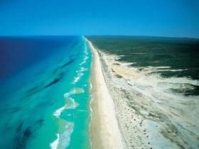 Fraser Island, Queensland - too bad I was a poor college student