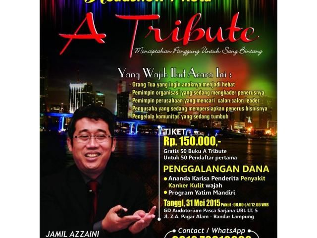 A Tribute by Jamil Azzaini