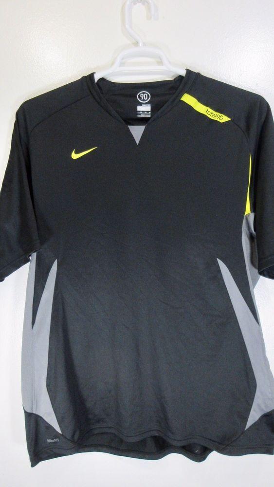 2a730ee8 Mens Nike Dri Fit Total 90 Black Fitness Shirt XL | Stuff to Buy ...