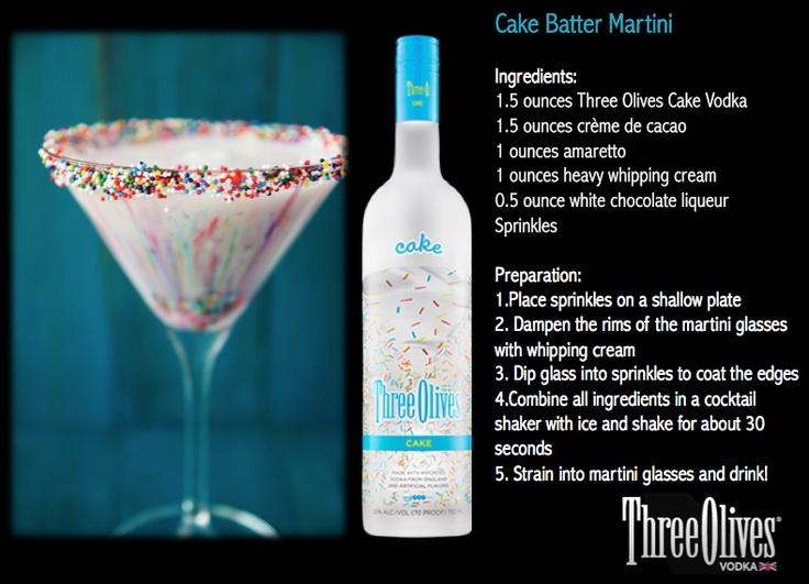 Shot recipes cake vodka