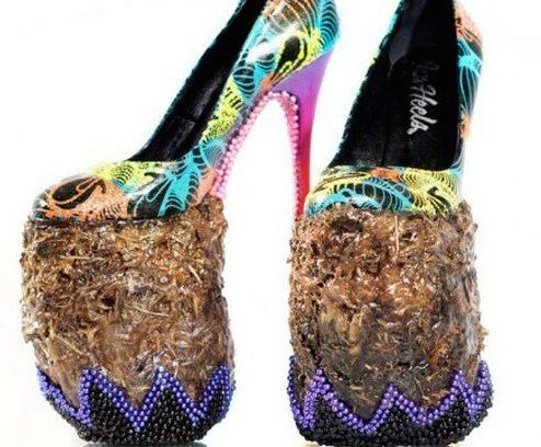 Bird Nest Disaster : 15 Bizarre-Looking Shoes Nobody Should Ever Wear | TOAT