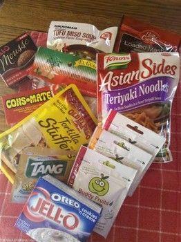 How to make cheap backpacking food: Yummy Teriyaki Noodles