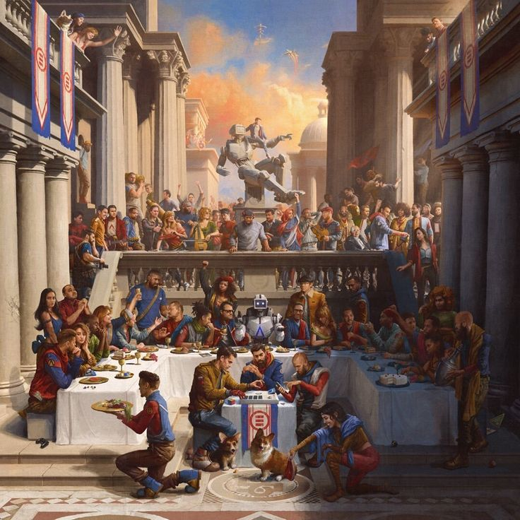"The Cover To Logic's New Album ""everybody"" (2017)"