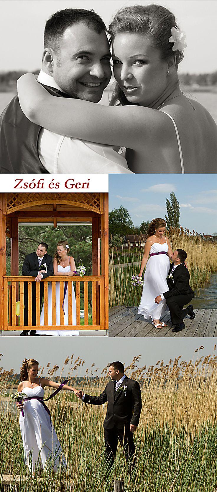 Esküvői fotók a Velencei tónál http://www.bodai.hu