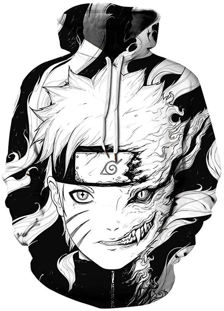DE Ahegao Hoodie Männer Frauen Sweats Hoodie Sweatshirt Anime Kunst Mantel