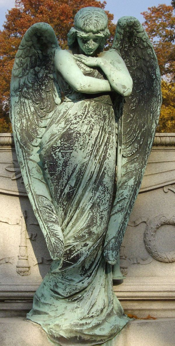 17 Best Images About Cemetery Sculptures On Pinterest