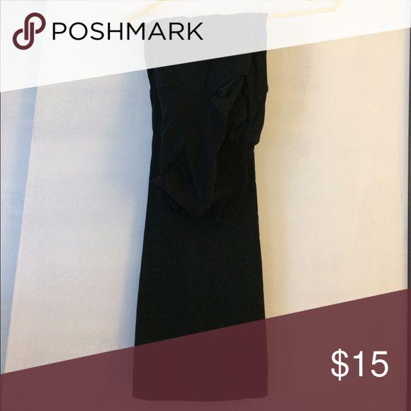 Maternity black khakis Full panel black khakis Motherhood Maternity Pants Boot Cut & Flare