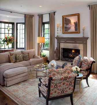 Shire ~ Coto de Caza ~ Vicki Gunvalson RHOC - mediterranean - Living Room - Orange County - Leanne Michael L U X E lifestyle design