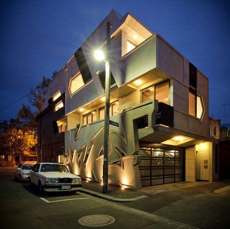 Graffiti Architecture in Melbourne