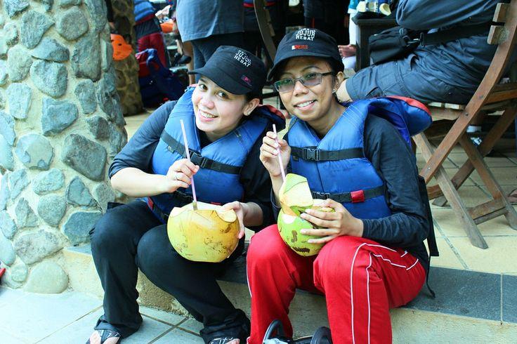 KELAPA MUDA : Adventure with CARE #Caldera_Indonesia #Rafting Citarik - Sukabumi, West Java Indonesia