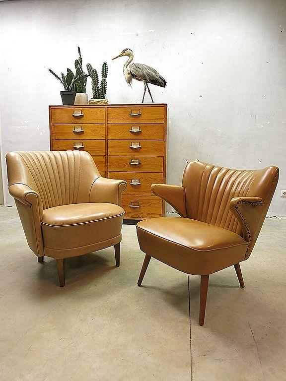 Vintage design cocktail chairs armchairs Theo Ruth Artifort www.bestwelhip.nl