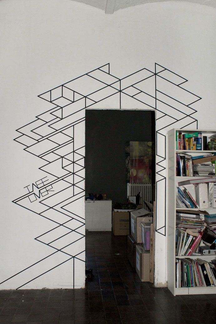 TAPE ART created by TAPE OVER