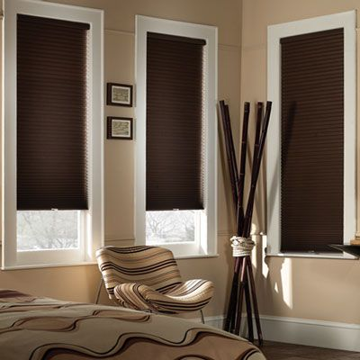 Keep your kids and pets safer with Blinds.com Economy Cordless Blackout Cellular Shades, available in a both a standard shade and a Day/Night version that provides 2 shades in 1, with a light filtering fabric on top and a blackout fabric on the bottom.