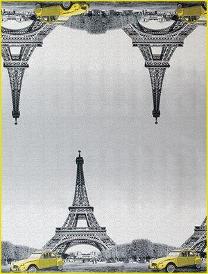 La tela cerata con soggetto Parigi