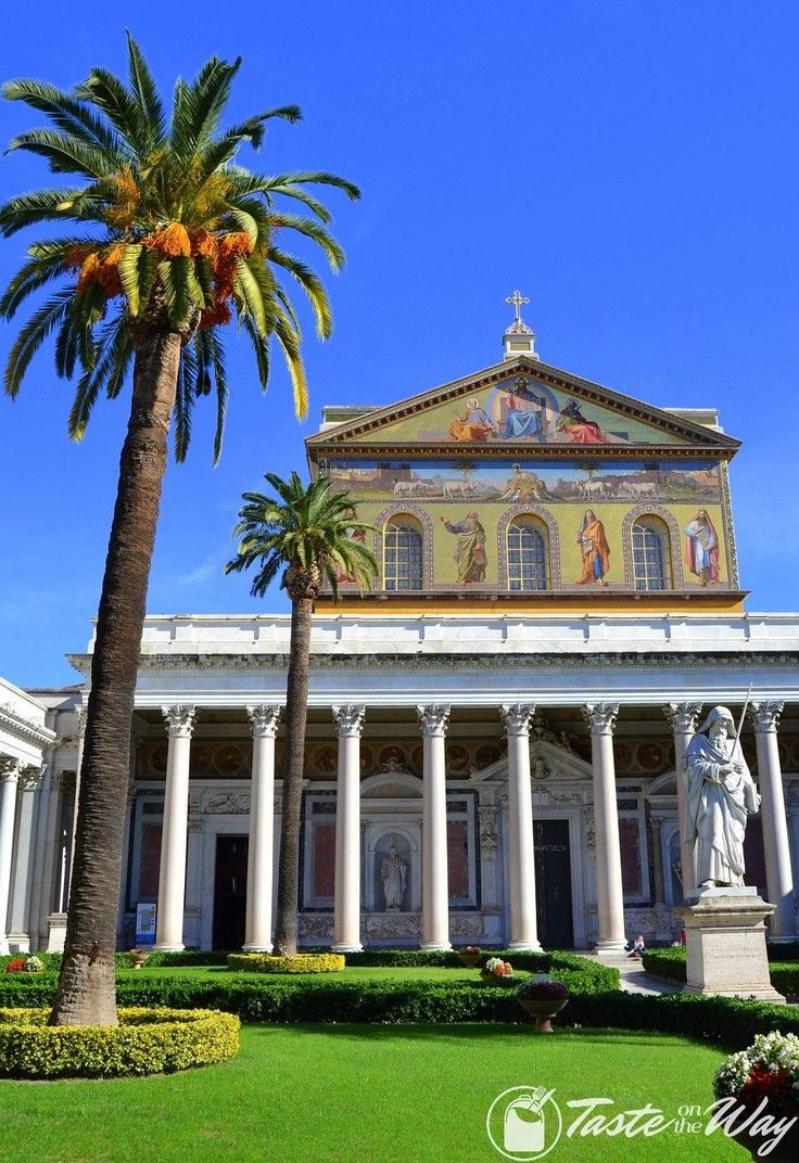 Visiting the Saint Paul's Basilica is one of the top #thingstodo in #Rome, #Italy. Check out for more! #travel #photography