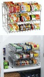 Portalatas para armario (cocina)
