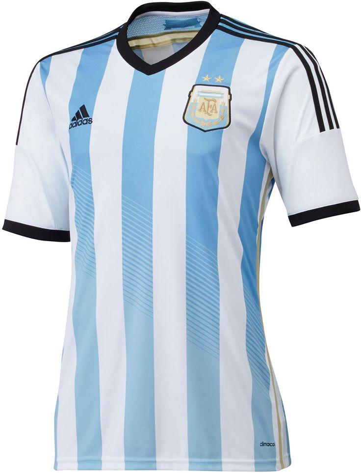 Argentina 2014 World Cup adidas Home Shirt (Official) http://brazilsworldcupshirts.co.uk/